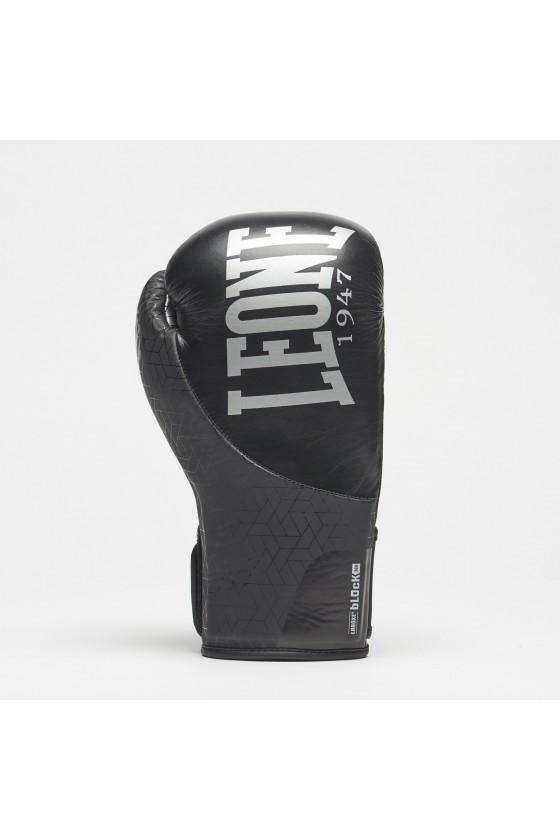 Боксерские перчатки Leone Texture черные