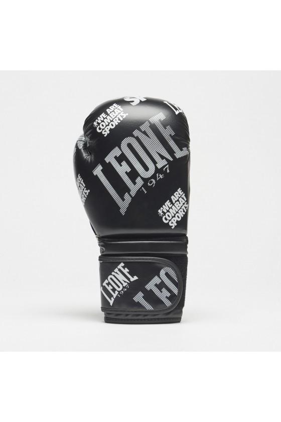 Боксерские перчатки Leone Wacs черные