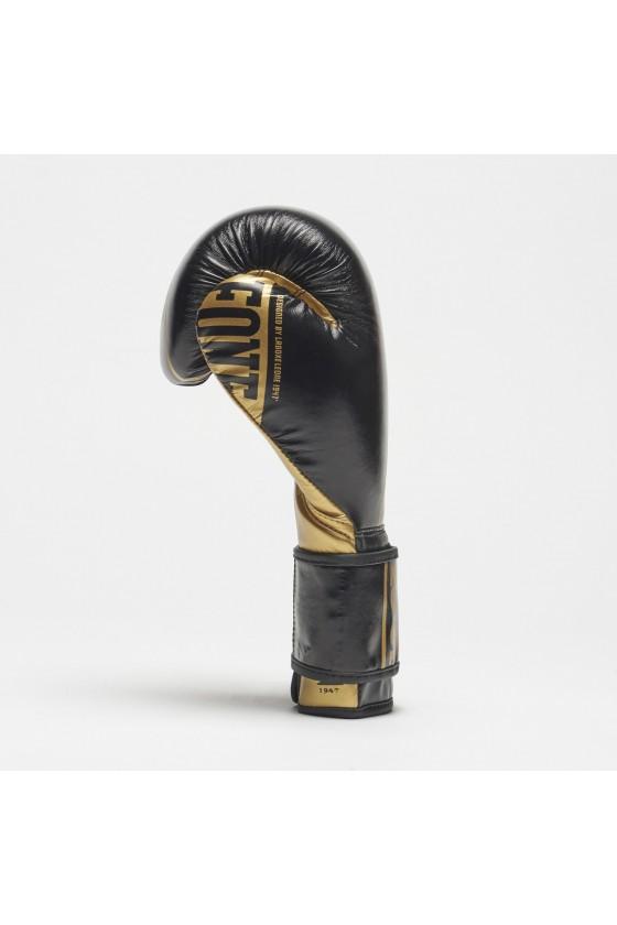 Боксерские перчатки Leone Nexplosion черные
