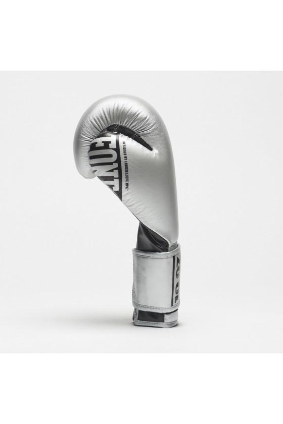 Боксерські рукавички Leone Nexplosion срібні