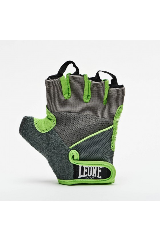 Перчатки для зала Leone светло-серые