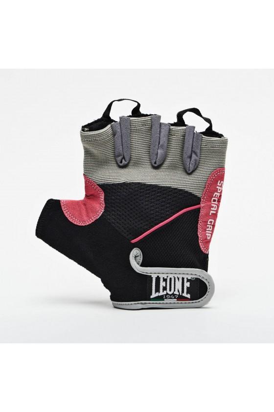 Рукавички для зала Leone фіолетові