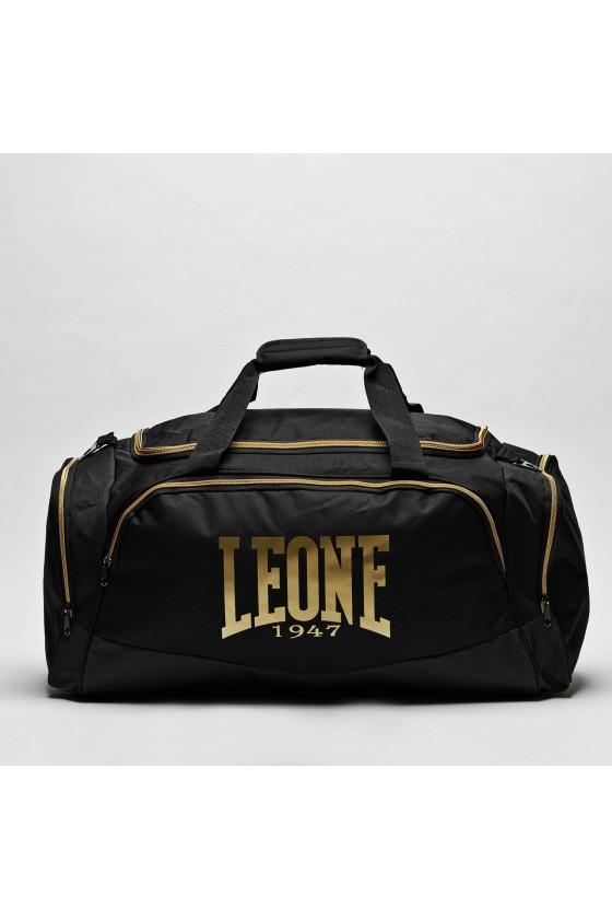 Спортивна сумка Leone Pro на 75 літрів чорна