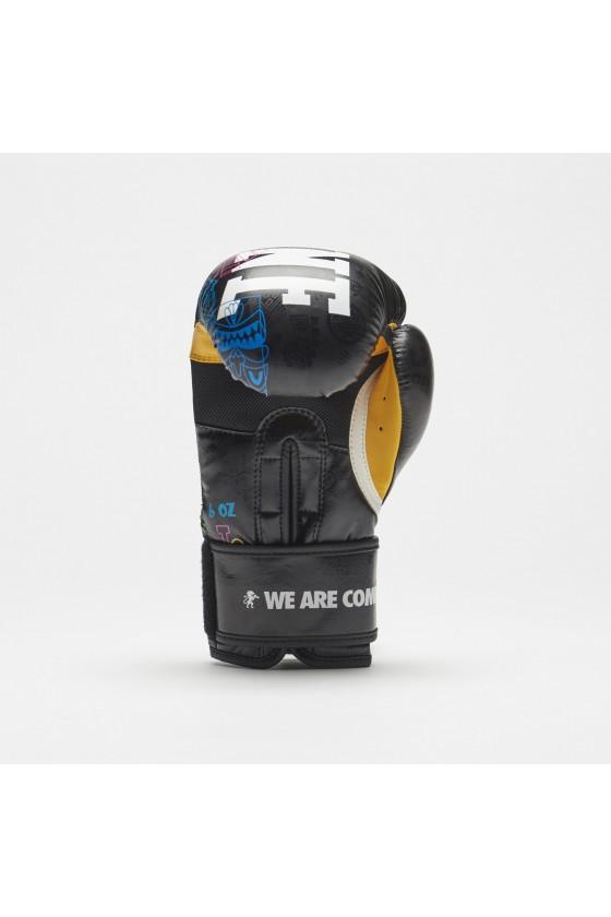 Детские боксерские перчатки Leone Totem черные