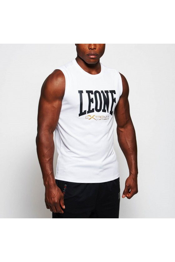 Спортивная майка Leone Logo белая