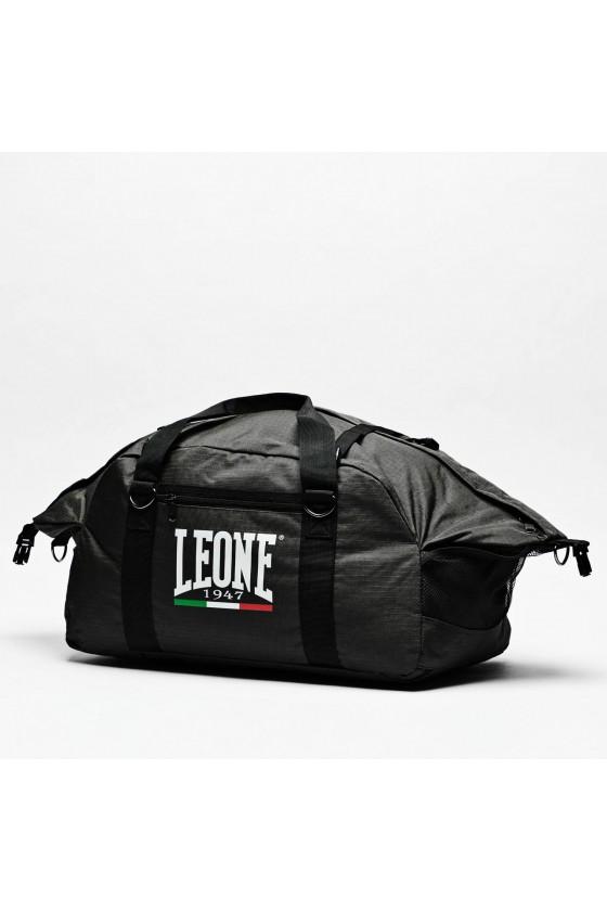 Спортивна сумка-рюкзак Leone на 70 л чорна