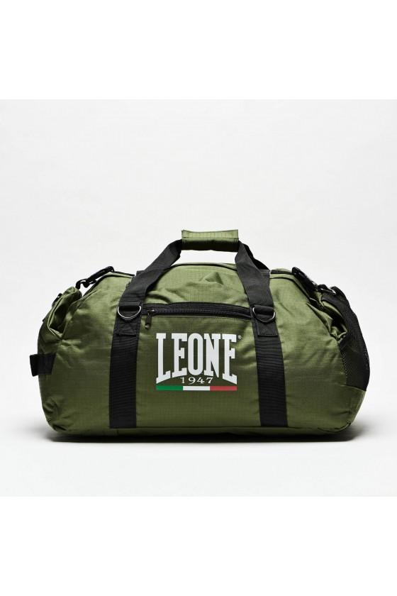 Спортивная сумка-рюкзак Leone на 70 л зеленая