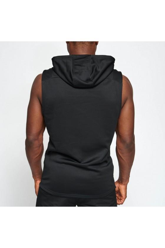 Худи без рукавов Leone Logo черная