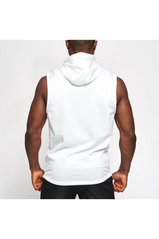 Худи без рукавов Leone Logo белая