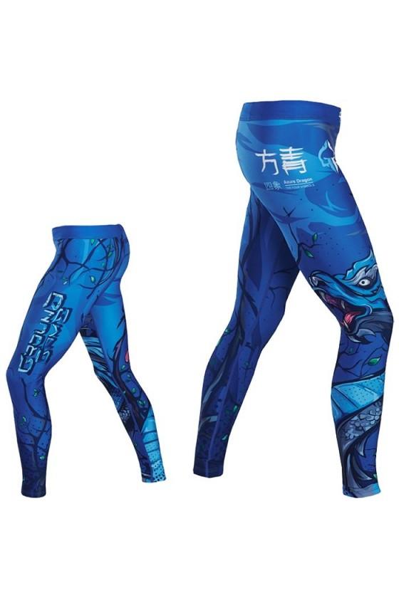 Компрессионные штаны Ground Game Azure Dragon