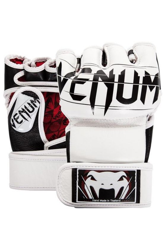 Перчатки MMA Undisputed 2.0 Nappa Leather White