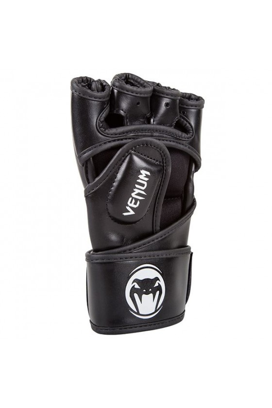 Рукавички MMA Venum Impact Skintex Leather Black