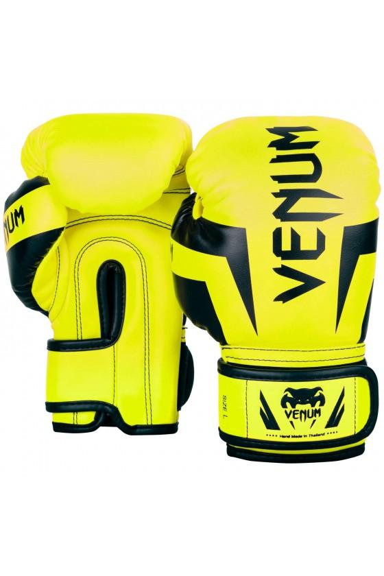 Дитячі боксерські рукавички Venum Elite Exclusive Fluo yellow