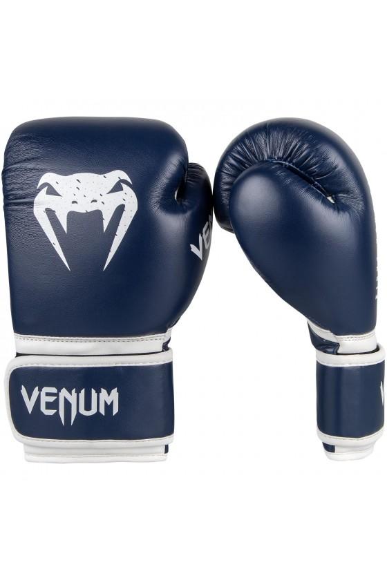 Детские боксерские перчатки Venum Signature Navy Blue