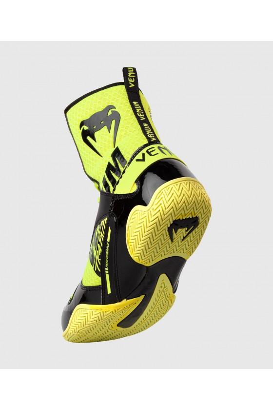 Боксерки Venum Elite VTC 2 Edition Neo Yellow/Black