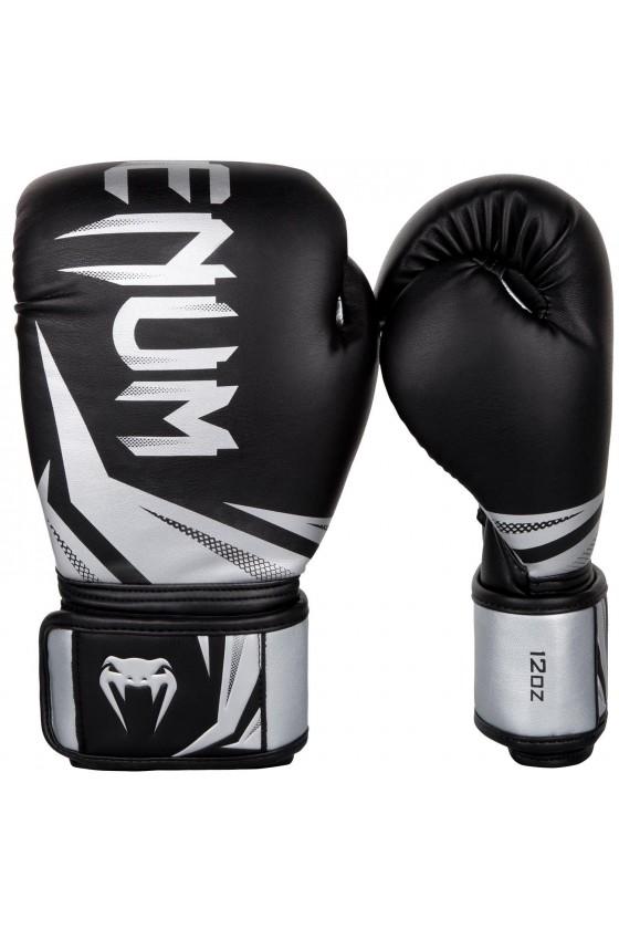 Боксерские перчатки Challenger 3.0 Black/Silver