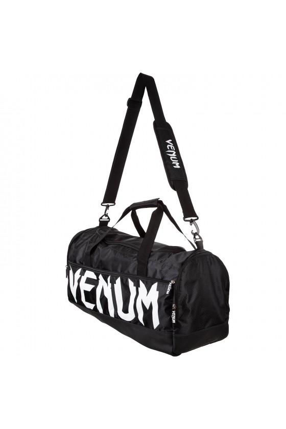 Спортивна сумка Venum Sparring Black/White
