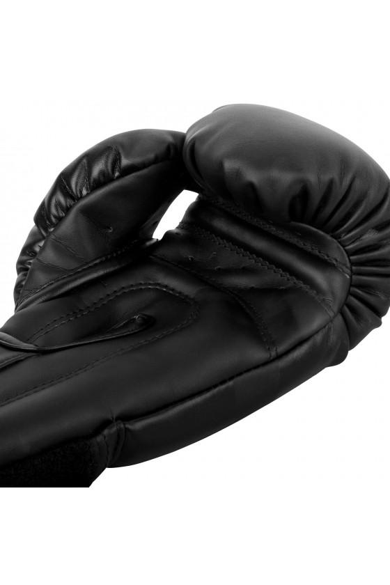 Детские боксерские перчатки Venum Elite Matte Black