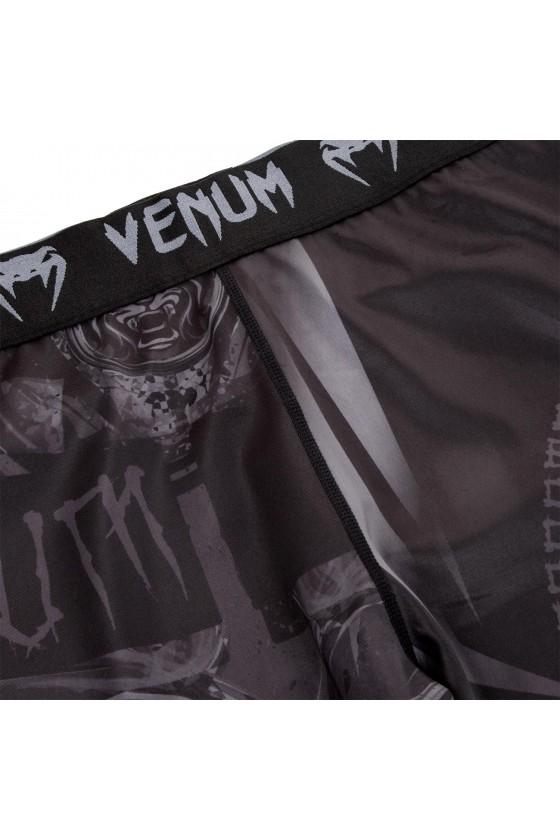 Компрессионные штаны Venum Gladiator 3.0 Black/Black