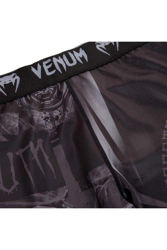 Компресійні штани Venum Gladiator 3.0 Black/Black