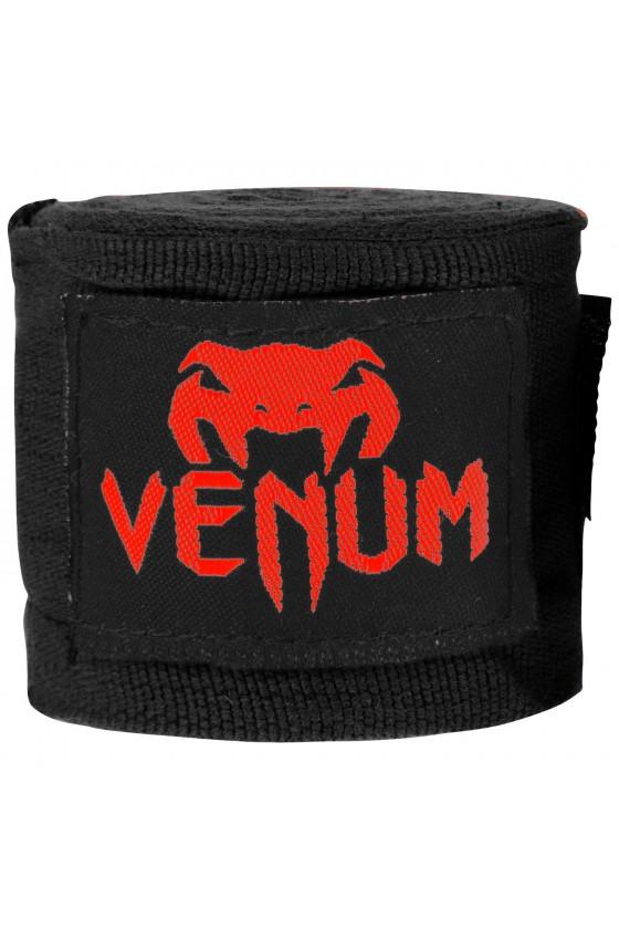 Боксерские бинты Venum Kontact Black/Red