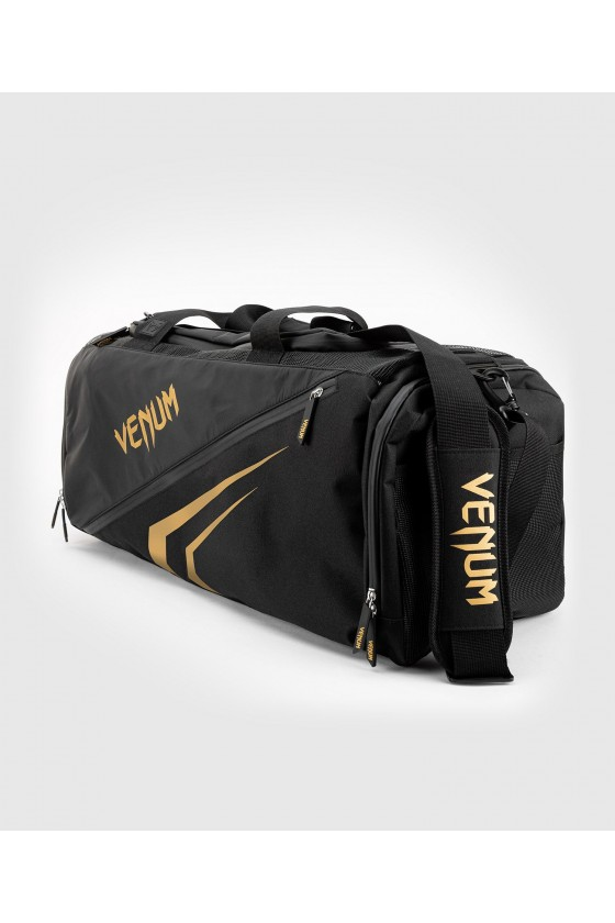 Спортивна сумка Venum Trainer Lite Evo Sports Black/Gold