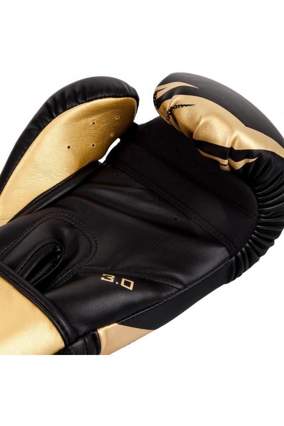 Боксерские перчатки Venum Challenger 3.0 White/Gold