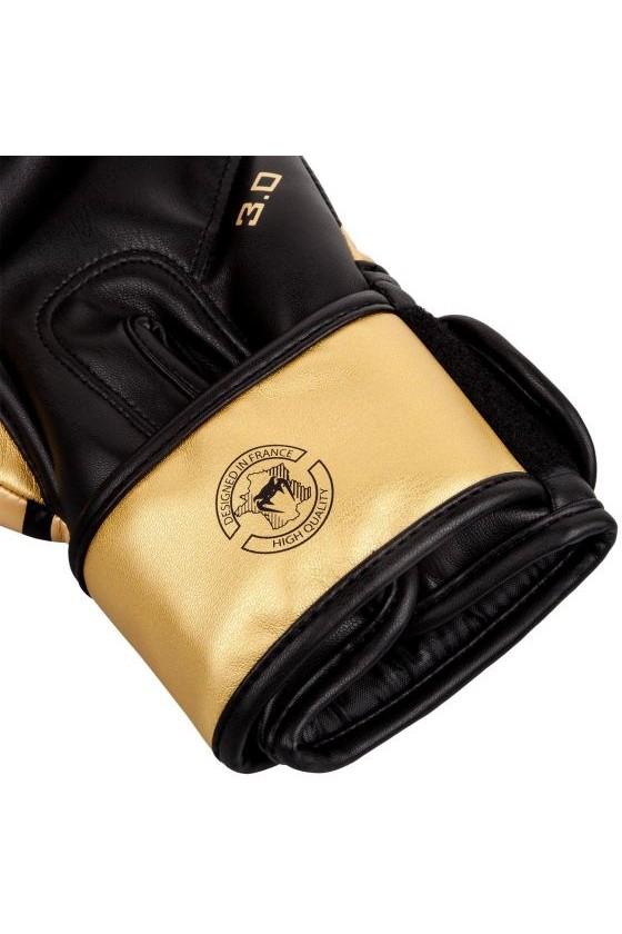 Боксерские перчатки Venum Challenger 3.0 Black/Gold