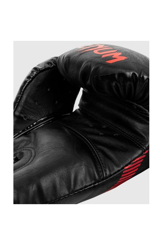 Боксерские перчатки Venum Impact Black/Red