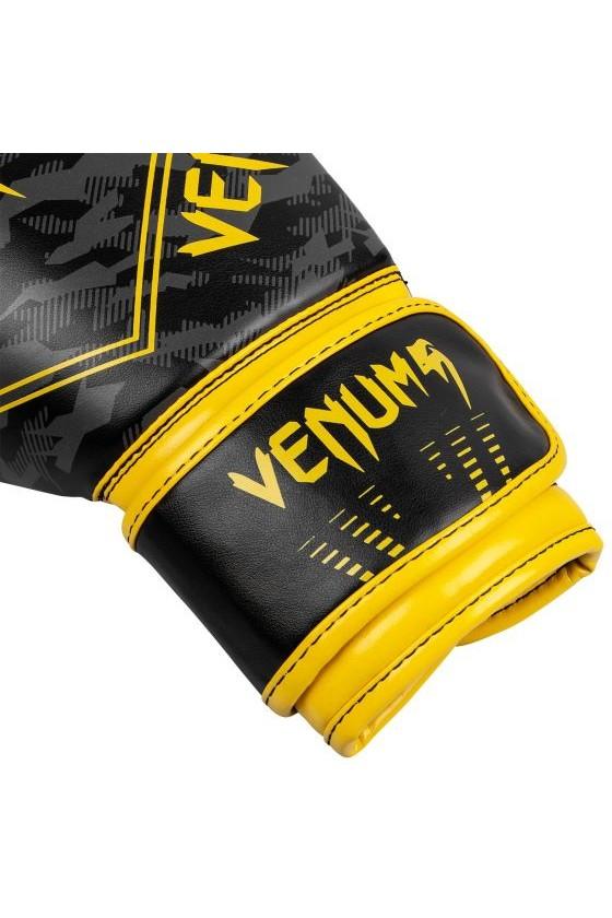 Дитячі боксерські рукавички Venum Okinawa 2.0 Black/Yellow