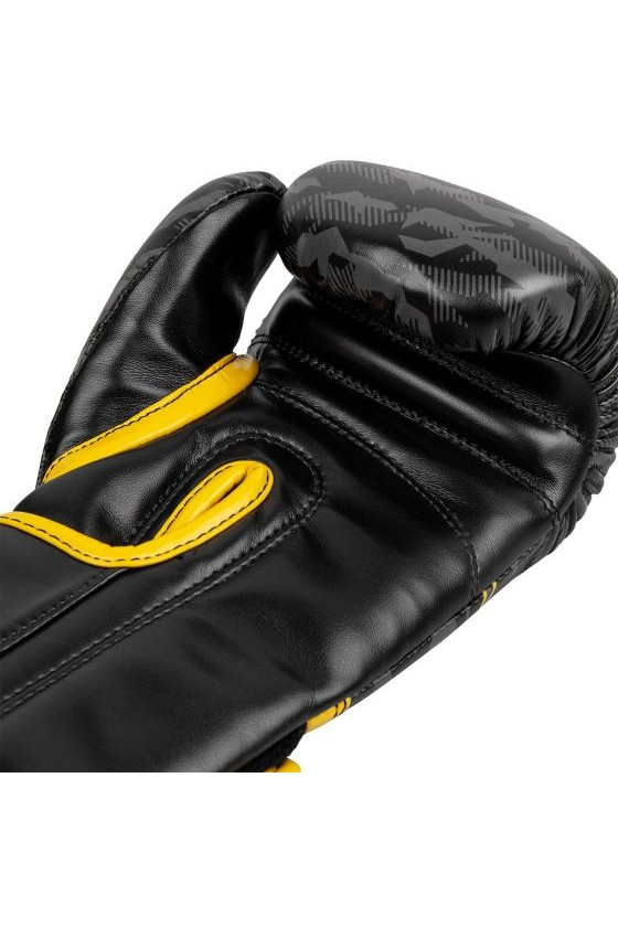 Детские боксерские перчатки Venum Okinawa 2.0 Black/Yellow