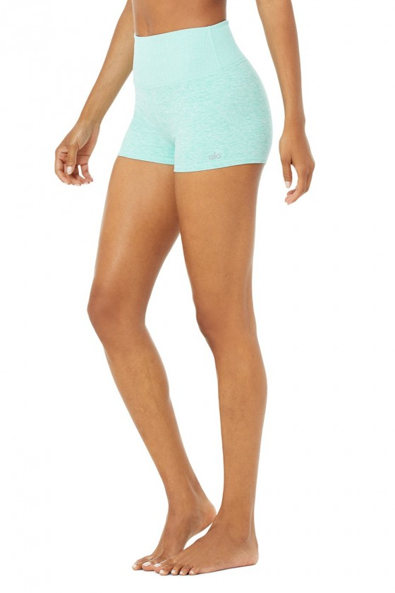 Женские шорты Alosoft Aura Blue Quartz Heather