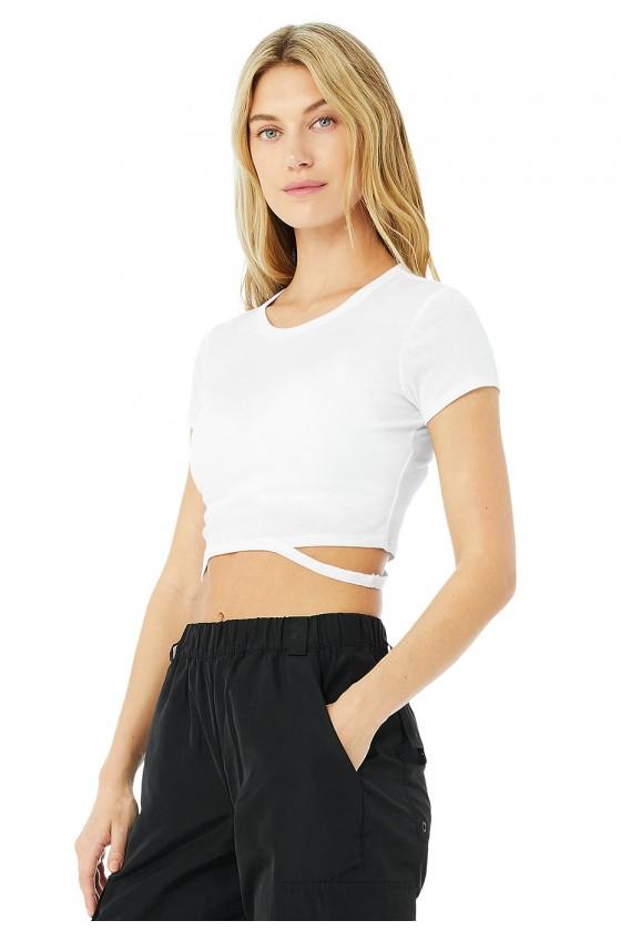 Жіноча укорочена футболка...