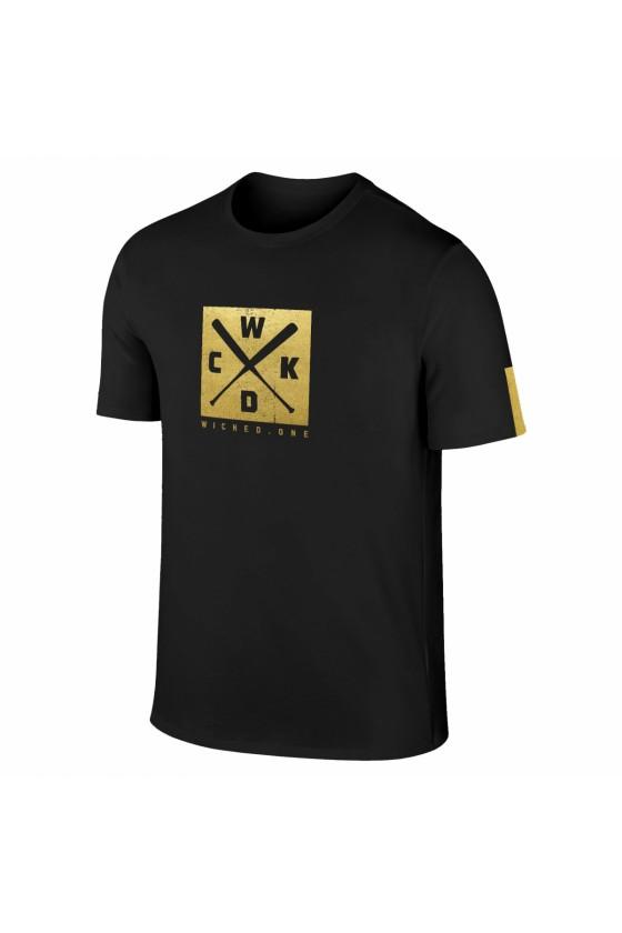 Футболка Base black/gold
