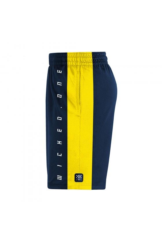 Шорты Slam navy/yellow