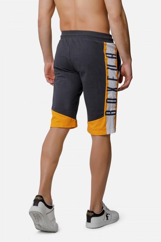 Спортивні шорти з полосками по бокам Anthracite