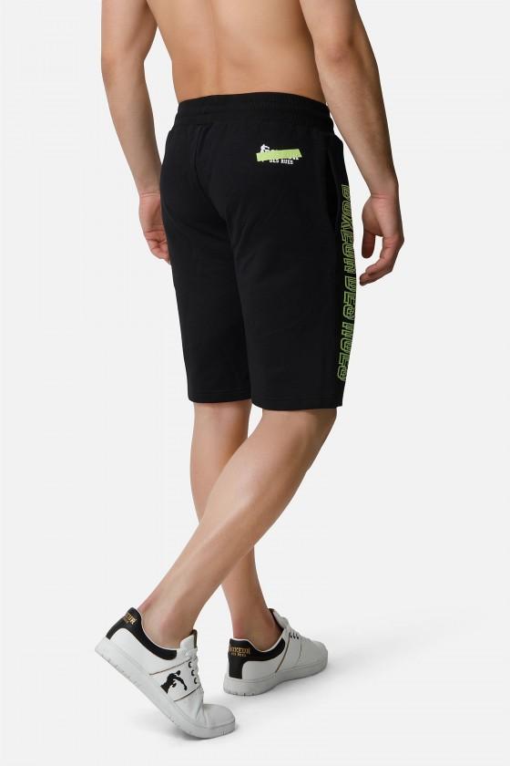 Спортивные шорты с принтом Black