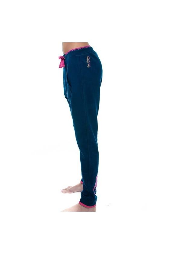 Женские спортивные штаны темно-синие