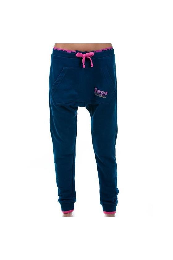 Жіночі спортивні штани темно-сині