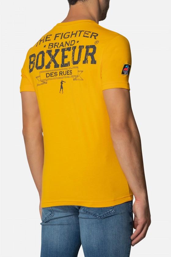 Футболка Boxeur street 2 yellow
