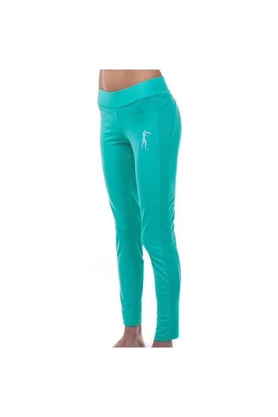 Жіночі спортивні легінси ніжно-блакитні