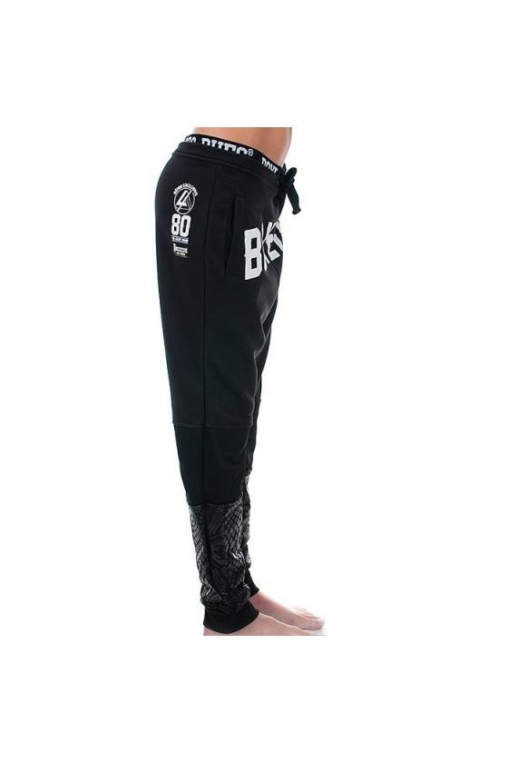 Женские спортивные штаны ANIMALIER черные