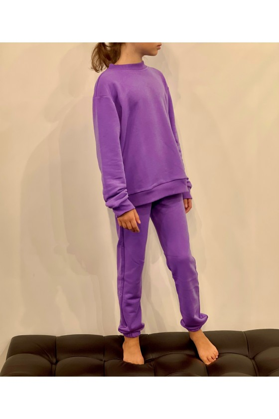Світшот дитячий Purple
