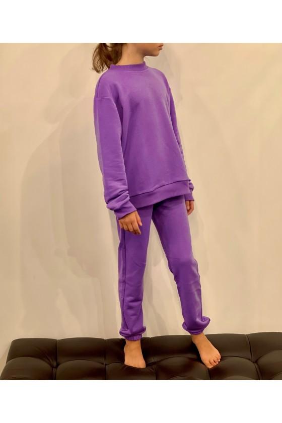 Джоггеры детские Purple