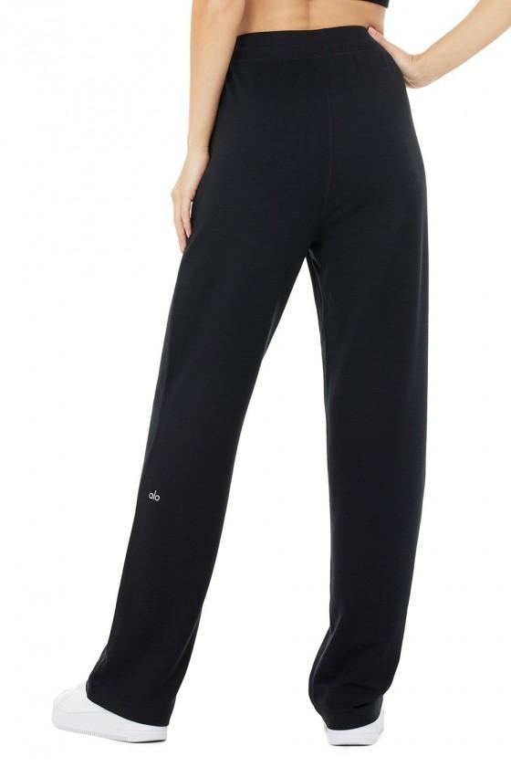 Спортивные штаны High-Waist Dreamy Wide Leg Black