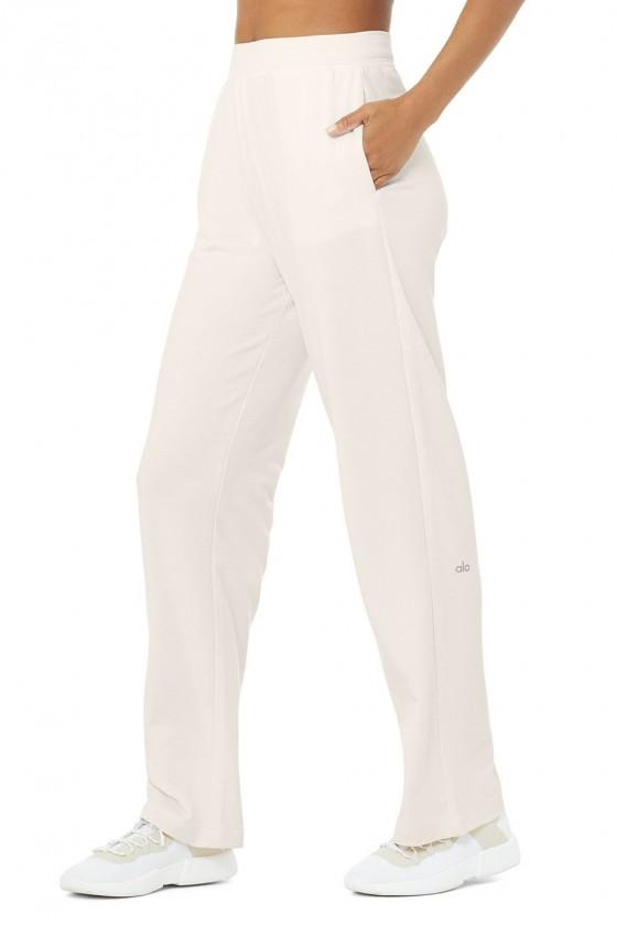 Спортивні штани High-Waist Dreamy Wide Leg Ivory