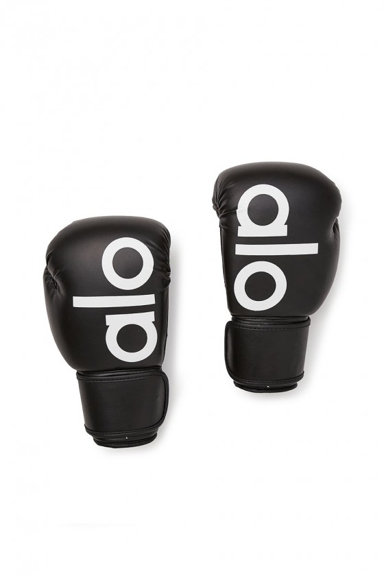Боксерские перчатки Alo Black