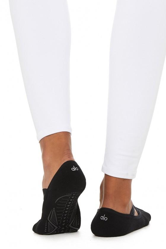 Жіночі тренувальні шкарпетки Pivot Barre Black