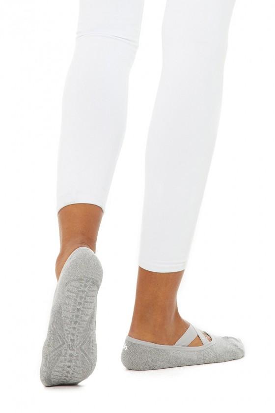 Жіночі тренувальні шкарпетки Pivot Barre Dove Grey Heather