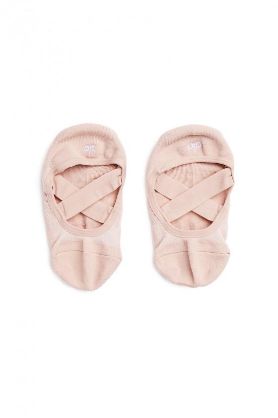 Женские тренировочные носки Pivot Barre Pale Mauve